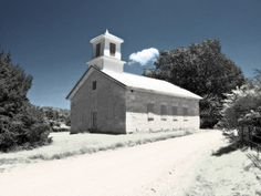 Oldest church in Oklahoma, Wheelock Academy.. Built by Choctaws in 1847 in McCurtain County