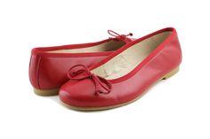 #Bailarina de #piel en color rojo #Jeromin