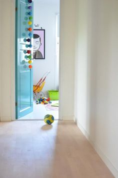 lovely glossy painted door