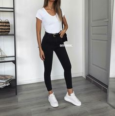 Outfit inspiration, have the jeans and jacket! – Inspire your outfit, jeans and jacket! Uni Outfits, Cute Casual Outfits, Everyday Outfits, Spring Outfits, Winter Outfits, Fashion Outfits, Womens Fashion, Cute Jean Outfits, Converse Outfits