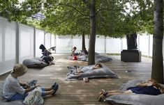 """Image 6 of 17 from gallery of """"Anti-Pavilion"""" Reframes National Sculpture Garden in Australia for NGV Triennal. Courtesy of Other Architects Architecture Interactive, Installation Architecture, Garden Architecture, Chinese Architecture, Installation Art, Architecture Office, Futuristic Architecture, Other Space, Urban Farming"""