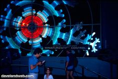 The Adventure Thru Inner Space presented Monsanto ran from 1967 to 1985. In the ride, visitors were transported through the Monsanto Mighty Microscope and given the feeling that they had been shrunken down and were experiencing atoms and molecules.    In its place now stands the Star Tours ride.