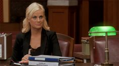 Leslie Knope - a new role model...