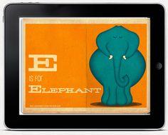 Animal ABC iBook | Laughing Lion Design