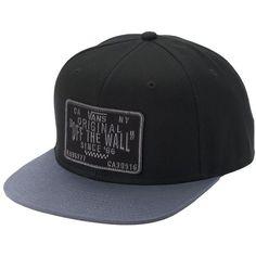Men's Vans Original Patch Snapback Cap (31 CAD) ❤ liked on Polyvore featuring men's fashion, men's accessories, men's hats, black, mens snapbacks, mens snapback hats, mens hats and mens cotton beanie hats