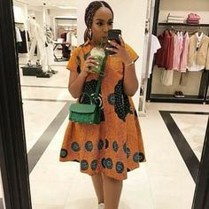 These Ankara Styles Would Get Your Girl To Slay - Manly 24 African Dresses For Kids, African Fashion Ankara, Latest African Fashion Dresses, African Dresses For Women, African Print Dresses, African Print Fashion, African Attire, Modern African Fashion, African Shirt Dress