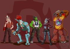 Casual Horde by LadyRosse Here are some of the best World of Warcraft Horde pics I could find online.