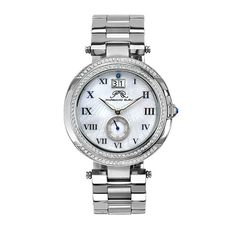 South Sea Crystal Watch - Silver Tone on StyleMined