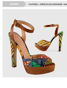 For sale   www.bhfshoppingmall.com: Contemporary African Shoes