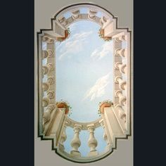 Painted ceilings. Farolfi arte, the photo galleries of the jobs done