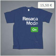 Resaca mode ON - Camisetacas: http://en.qstoms.com/camisetacas/resaca-2