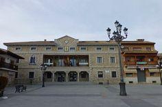 Plaza del Pueblo de Manzanares el Real