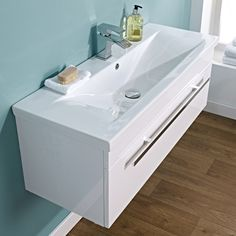 eden 1000mm wall mounted basin u0026 cabinet image 3