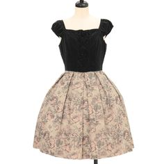 ♡ Emily Temple cute ♡ Gobelins-style dress http://www.wunderwelt.jp/products/detail10963.html ☆ ·.. · ° ☆ How to order ☆ ·.. · ° ☆ http://www.wunderwelt.jp/user_data/shoppingguide-eng ☆ ·.. · ☆ Japanese Vintage Lolita clothing shop Wunderwelt ☆ ·.. · ☆