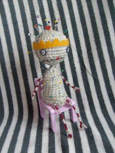 Crochet Pattern- Pin Cushion Queen inspired