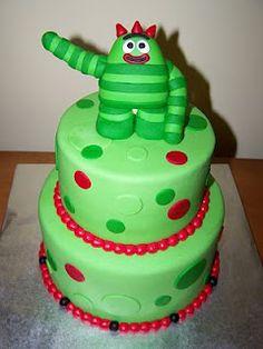 Brobee (Yo Gabba Gabba) Cake