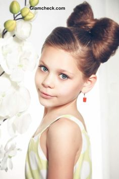 Little Girls Hairstyle – Cute Hair Bow Tutorial