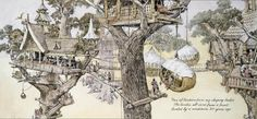 Gurney Journey: Part 5. The Origins of Dinotopia: Treetown