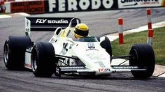 1983 - Donington Park - Williams (test)