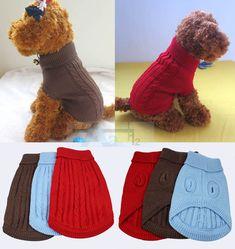 patron ropa mascota crochet - Buscar con Google