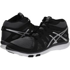 ASICS GEL-Fit Tempo 2 MT Women's Cross Training Shoes ($72) ❤ liked on Polyvore featuring shoes, athletic shoes, asics, lace up shoes, low shoes, laced shoes and asics shoes
