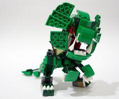 dino02   Set 31058: Mighty Dinosaurs alt moc.   chubbybots   Flickr