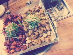한국음식  곱창 It is really delicious~.~