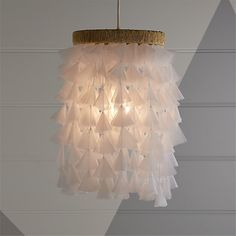 Dreamy Fabric Chandelier at Crate and Barrel Canada. Discover unique furniture and decor from across the globe to create a look you love. Kids Ceiling Lights, Kids Room Lighting, Room Lights, Wall Lights, Lighting Ideas, Girls Chandelier, Fabric Chandelier, Chandelier Bedroom, Chandelier Ideas