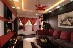 13 SMALL Homes so beautiful you won't believe they're HDB flats Flat Interior Design, Interior Design Singapore, Vintage Interior Design, White Brick Walls, Thrifty Decor, Vintage Kitchen Decor, Home Design Plans, House Layouts, Apartment Interior