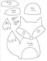 Fox Softie Pattern