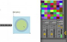 Visu w/ midi from live Live, Software, Audio, Quartz, Tutorials, Youtube, Youtubers, Youtube Movies