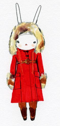 Fifi Lapin wears Sonia Rykiel