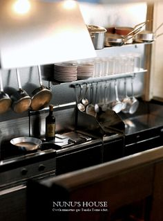 Miniature kitchen!