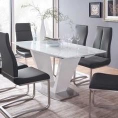 Dining Chairs, Dining Room, Extendable Dining Table, Office Desk, New Homes, House Design, Interior Design, Inspiration, Furniture