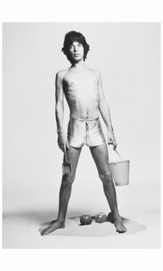 Mick Jagger 1973 Photo Francesco Scavullo
