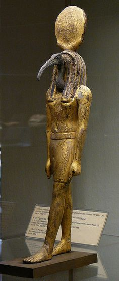 Egyptian Ibis-headed god Thot by petrus.agricola, via Flickr