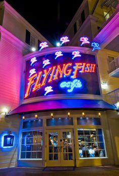 Flying Fish Cafe Review - better than any Epcot restaurants!