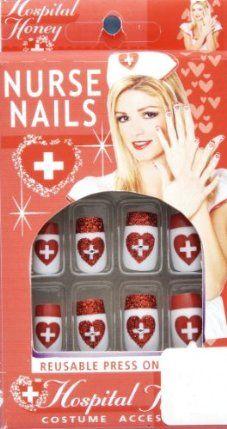 Sexy Nurse Fake Nails by Forum Novelties Inc.. $6.74. Includes: 10 fake nails.
