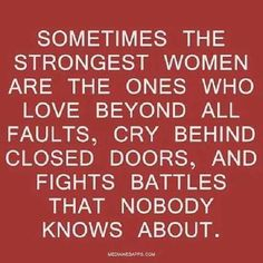 Heres to the stong women