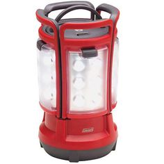 Coleman Quad LED Lantern Red- Black 2000024041