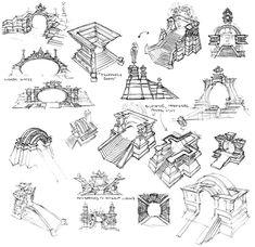 Asura Gate Sketches