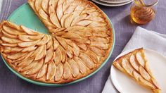 This delicious, thin apple tart is made easy with Pillsbury® refrigerated pie crust – a classic French dessert recipe.