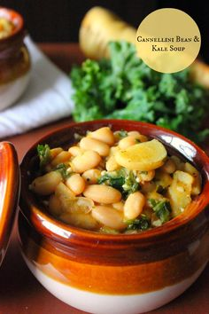 Canneli Bean & Kale Soup that is awesome for your health. Easy and delicious soup to make that is perfect for vegans, vegetarians, and healthy eaters!