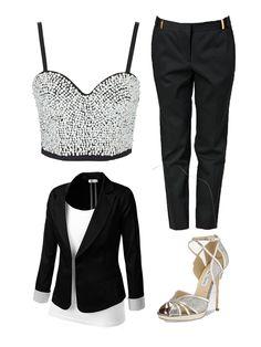 TopShop Pearl Bustier Outfit inspiration