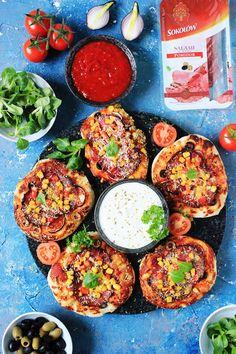 Sałatka śledziowa z porem, jajkiem i czerwoną fasolą | Tysia Gotuje blog kulinarny Pizza, Blog, Blogging
