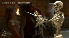 If you like skeleton and VFX, don't miss this breakdown for Sandoz, one of our earliest commercials.