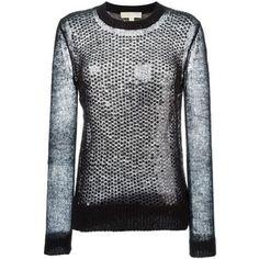 Michael Michael Kors Sequinned Open Knit Sweater