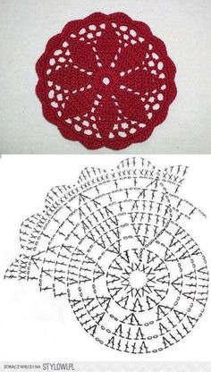 Watch This Video Beauteous Finished Make Crochet Look Like Knitting (the Waistcoat Stitch) Ideas. Amazing Make Crochet Look Like Knitting (the Waistcoat Stitch) Ideas. Crochet Coaster Pattern, Crochet Mandala Pattern, Crochet Doily Patterns, Crochet Diagram, Crochet Chart, Crochet Squares, Thread Crochet, Crochet Doilies, Crochet Flowers