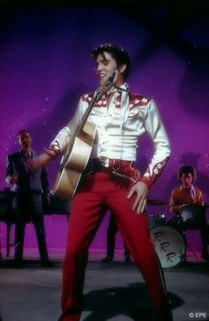 "Elvis Presley in ""Loving You"" 1957 - performing 'Teddy Bear'"