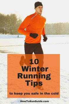Learn 10 cold weather running tips to make winter running bearable (and dare we say enjoyable?) while keeping you safe and comfortable in the cold. Healthy Man, How To Stay Healthy, Healthy Tips, Healthy Food, Healthy Living, Running In Cold Weather, Mens Winter Running Gear, Running Wear, Running Shirts